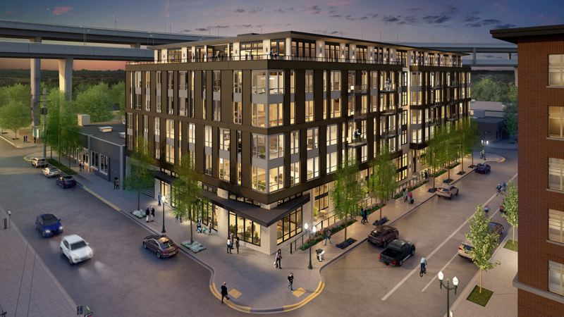 COURTESY: BROADSTONE - Rendering of the Reveal apartments.
