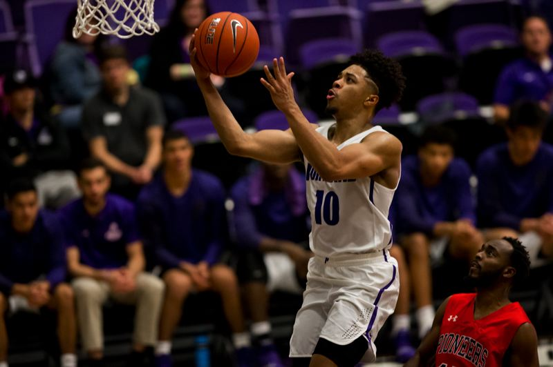 COURTESY: UNIVERSITY OF PORTLAND - Sophomore guard Marcus Shaver Jr. returns to the Portland Pilots as a scorer and floor leader as coach Terry Porter's club tries to rise in the West Coast Conference standings.