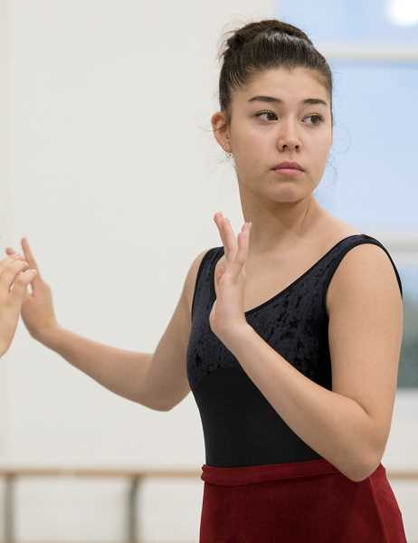 COURTESY PHOTO: THE PORTLAND BALLET - Harumi Buchholz, 15, will perform in The Portland Ballet's performance 'A Midsummer Night's Dream' beginning Nov. 23.