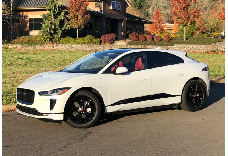 PORTLAND TRIBUNE: JEFF ZURSCHMEIDE - The 2019 I-Pace is styled like all current Jaguar vehilces, but was designed as an EV from a clean sheet of paper