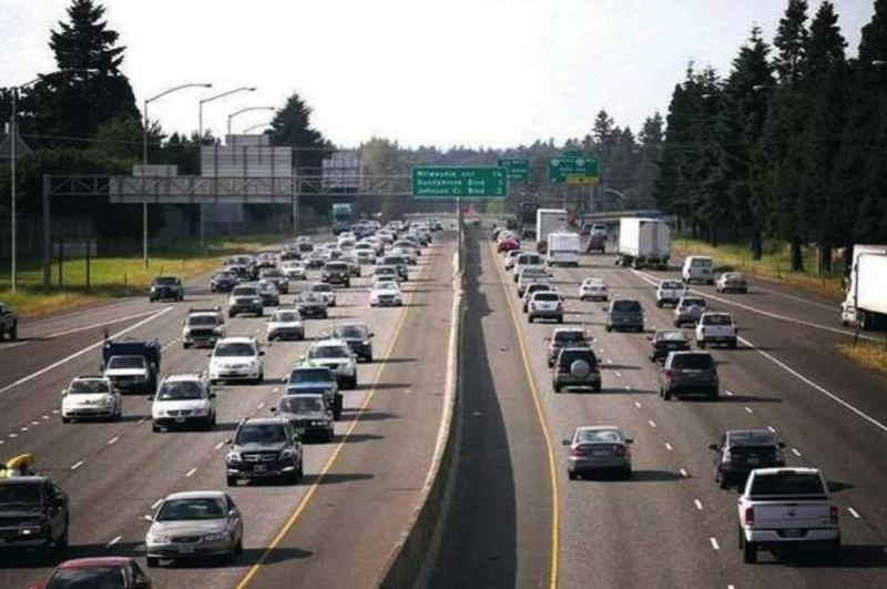FILE PHOTO - These Portland drivers aren't very safe, according to Allstate