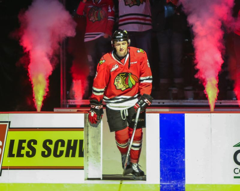 COURTESY: DAYNA FJORD/PORTLAND WINTERHAWKS - A first-round draft pick, Cody Glass will wait to launch his NHL career with the Vegas Golden Knights and play one more season with the Portland Winterhawks.