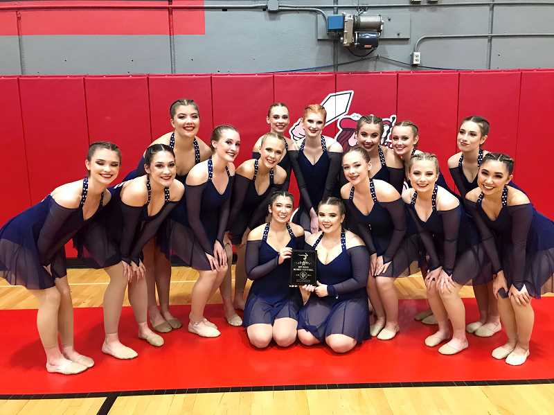 COURTESY PHOTO: JENNIFER CHAFFEE - Canby's Dance team has been on a tear through early November, winning three straight competitions.