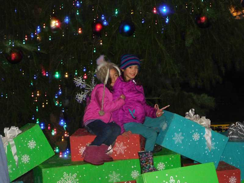 FILE PHOTO - The city of Estacadas annual Christmas tree lighting will take place from 5-7 p.m. Friday, Nov. 30, outside of City Hall, 475 S.E. Main St.