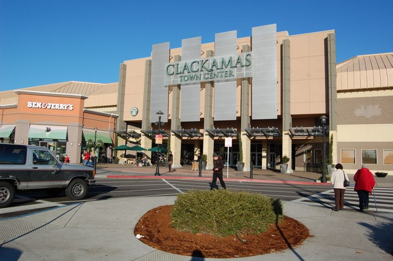 RAYMOND RENDLEMAN - Clackamas Town Center shopping mall