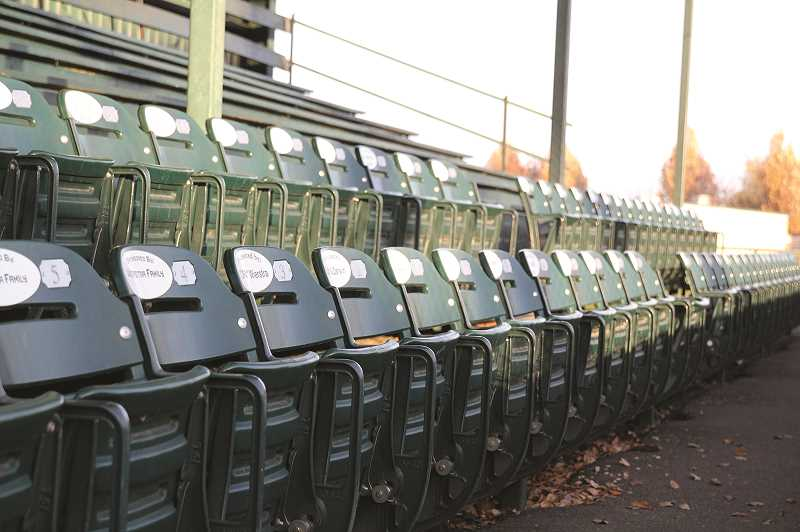 PHIL HAWKINS - The addition of more than 100 individual bucket seats behind home plate and along the first base line heading into right field are among a number of improvements that have benefitted Bob Brack Stadium over the past decade.