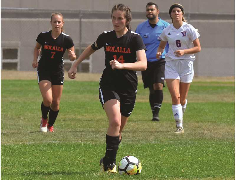 ARCHIVE PHOTO: TANNER RUSS - Molalla's Emma Andrews