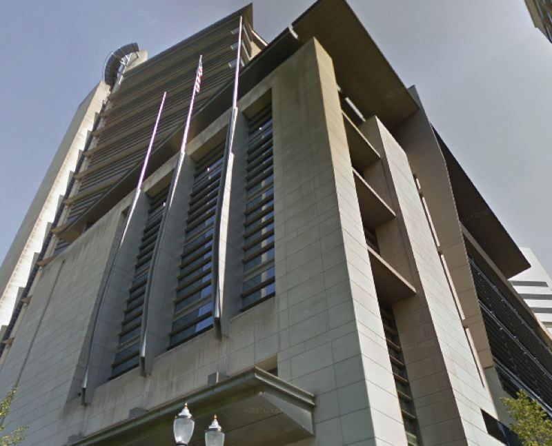 COURTESY GOOGLE MAPS - The Mark O. Hatfield United States Courthouse in downtown Portland.