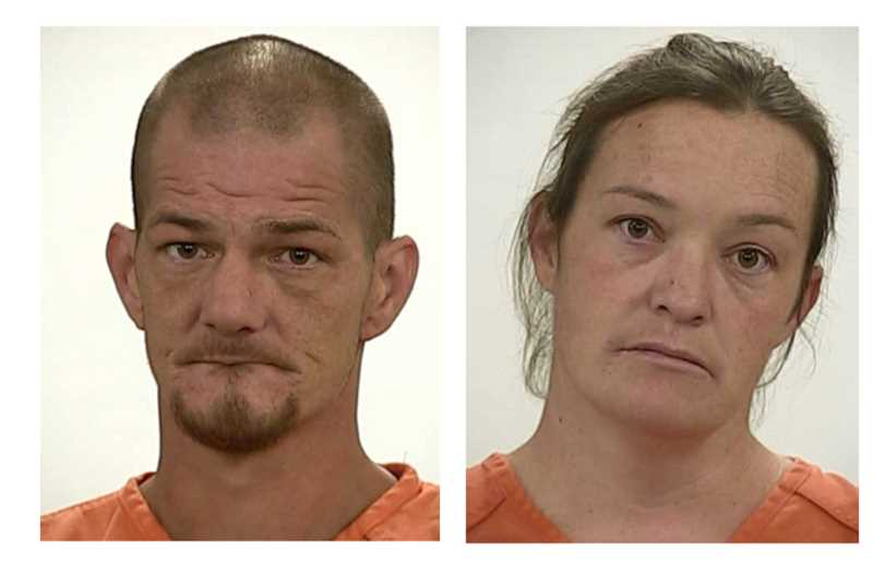 SUBMITTED PHOTOS - Crooked River Ranch residents Jonothan Vance and Mellody Barnes have been sentenced for mistreatment, drug possession and animal possession charges.