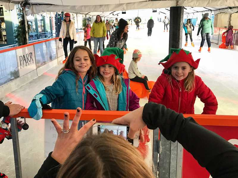 STAFF FILE PHOTO - The outdoor ice rink Winter Village returns to Hillsboro's Orenco Station this Friday.