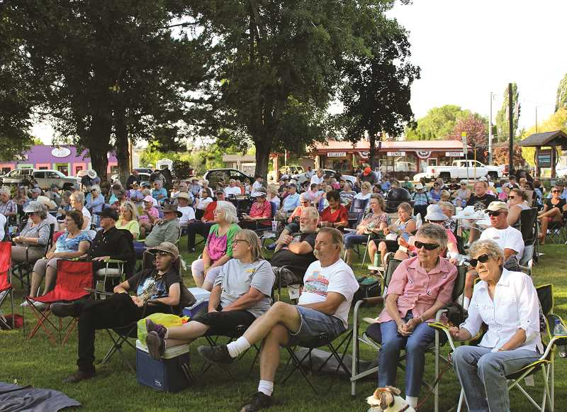 CENTRAL OREGONIAN - Picnic in the Park has become a popular attraction that Crook County Foundation created to support the arts.