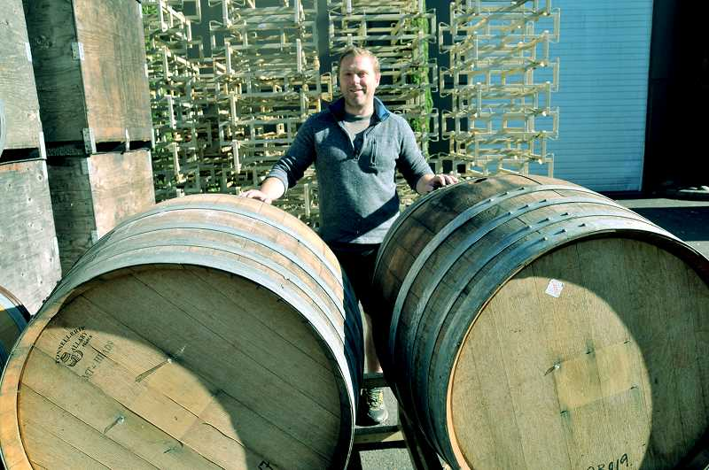 GARY ALLEN - Master sommellier Brandon Tebbe has traveled the world to study the wine industry, most recently serving as an intern at a winery in Dundee.