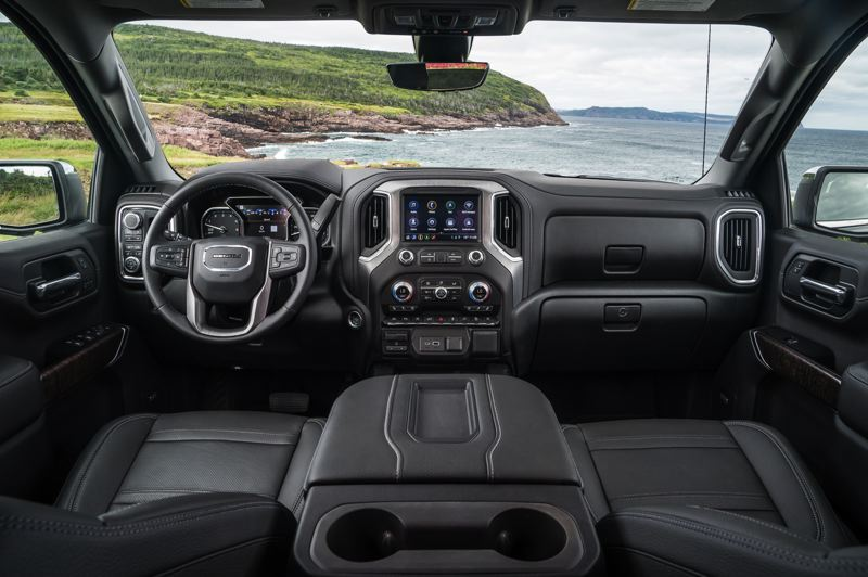 COURTESY GMC - The 2019 GMC Sierra Denali meets luxury standards and can be ordered with the most advanced automotive technologies.