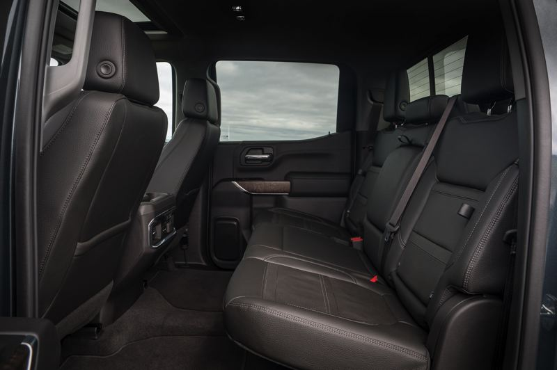COURTESY GMC - The 2019 GMC Sierra Denali can carry up to five adults in comfort and style.