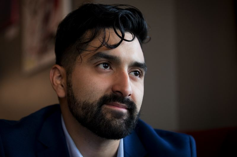 PAMPLIN MEDIA GROUP: JAIME VALDEZ - Juan Carlos Gonzalez was the youngest person elected to the Metro Council when he won the seat in November's general election. He's also the first Hispanic to hold a seat on the council.