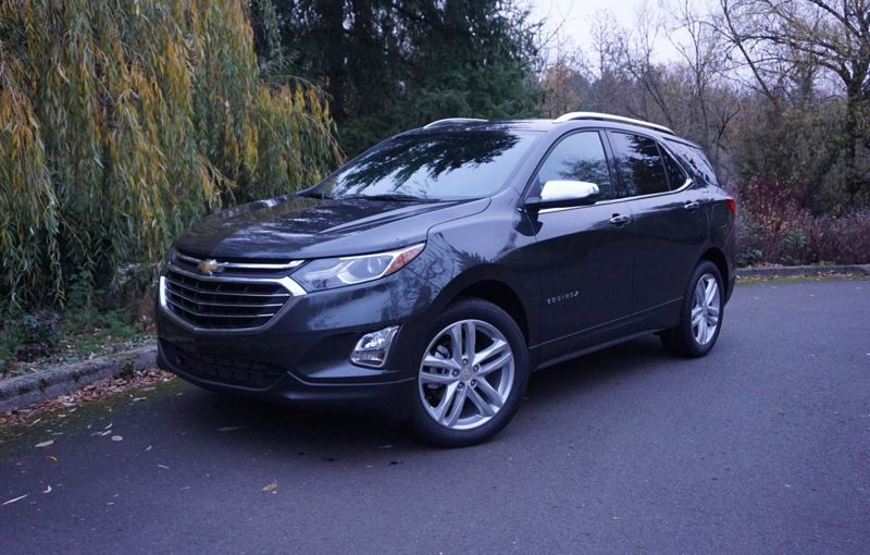 PORTLAND TRIBUNE: JEFF ZURSCHMEIDE - The 2019 Chevy Equinox is a stylish, practical compact crossover SUV that can be ordered with front-wheel or all-wheel-drive, three different turbocharged engines, and two different transmissions, depending on your needs.
