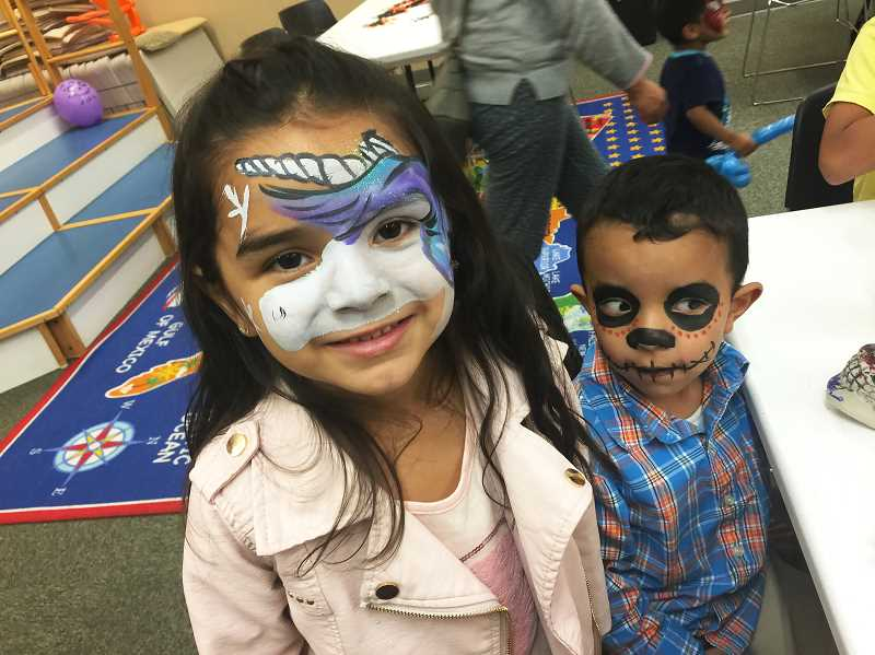COURTESY PHOTO - Molalla Public Library celebrates Dia De Los Muertos.