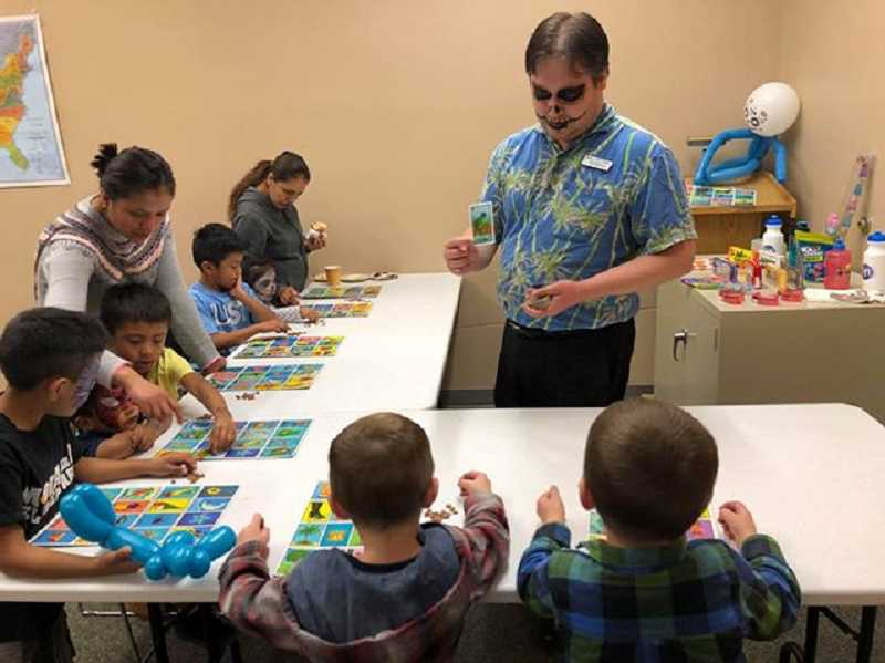 COURTESY PHOTO - Molalla Public Library holds Loteria, or Mexican Bingo.