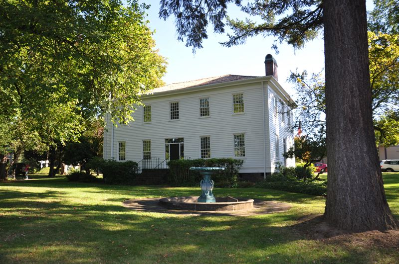 PAMPLIN MEDIA GROUP FILE PHOTO - The McLoughlin House is located at 713 Center St., Oregon City.