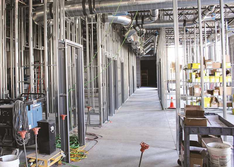 CENTRAL OREGONIAN FILE PHOTO  - Participants in the academy will get to tour the new jail while it is still under construction.