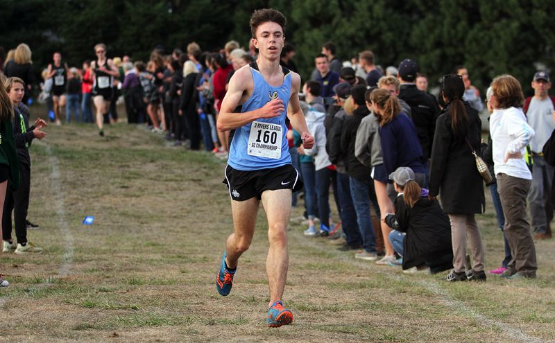 REVIEW FILE PHOTO - Lakeridge senior Evan Wheeler was one of two Pacers to earn first-team all-Three Rivers League honors in cross country this fall.