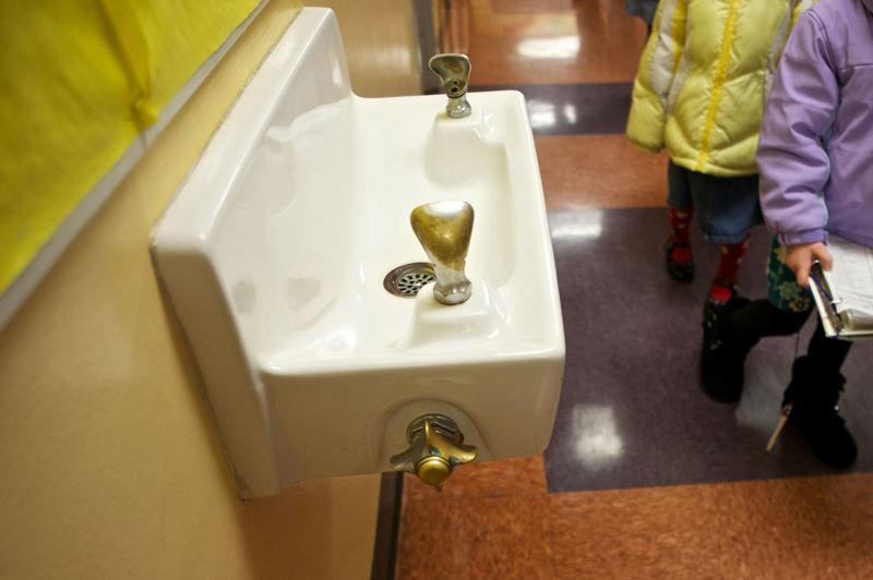 PAMPLIN MEDIA GROUP FILE PHOTO - Though fewer than 2 percent of its customers are at risk for lead contamination, Portland Water Bureau test results have surpassed federal action limits 12 times. City schools are still finding high amounts of lead in some drinking water sources.