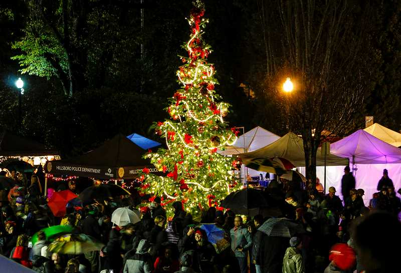 STAFF FILE PHOTO - Hillsboro's Holly Days event returns to downtown on Saturday, Dec. 1.
