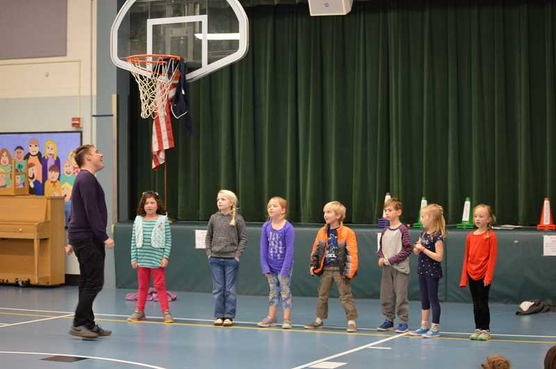 TIDINGS PHOTO: CLARA HOWELL  - West Linn students audition for 'The Pied Piper' Nov. 26.