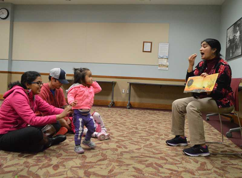 STAFF PHOTO: JANAE EASLON - International storytime started at Hillsboro Brookwood Library about a decade ago, with multilingual community members serving as story leaders.