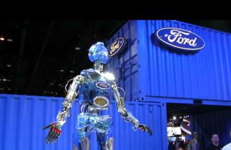 YOUTUBE - Hank the Robot will perform at the Ford dispaly at the 2019 Portland International Auto Show.