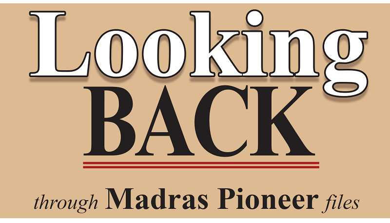 MADRAS PIONEER LOGO - The Madras Pioneer looks back through 100 years of newspaper archives.