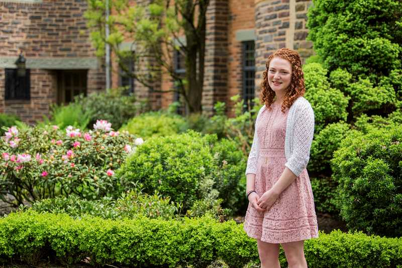 SUBMITTED PHOTO - Lewis & Clark College alumna Katie Kowal will be heading for the University of Oxford in October 2019 after winning a prestigious Rhodes Scholarship.