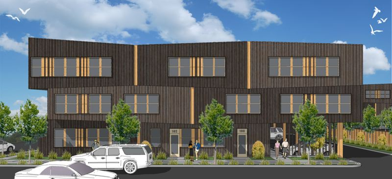 COURTESY: CARLETON HART ARCHITECTURE - When completed in late 2019, Nesika Illahee will contain 59 affordable units, including several three- and four-bedroom apartments for families. Medical, dental and behavioral health services will be offered in-house to all residents. ,