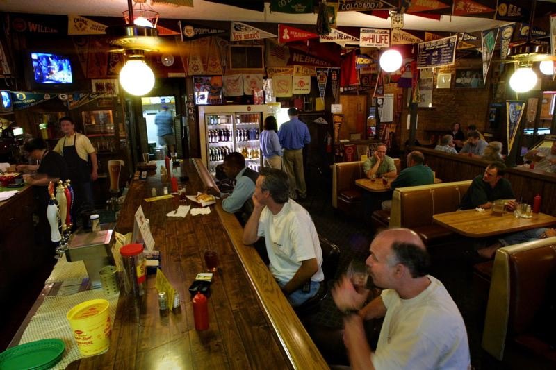 FILE PHOTO - The inside of Stanich's tavern is shown here in a photo previously published in the Tribune.