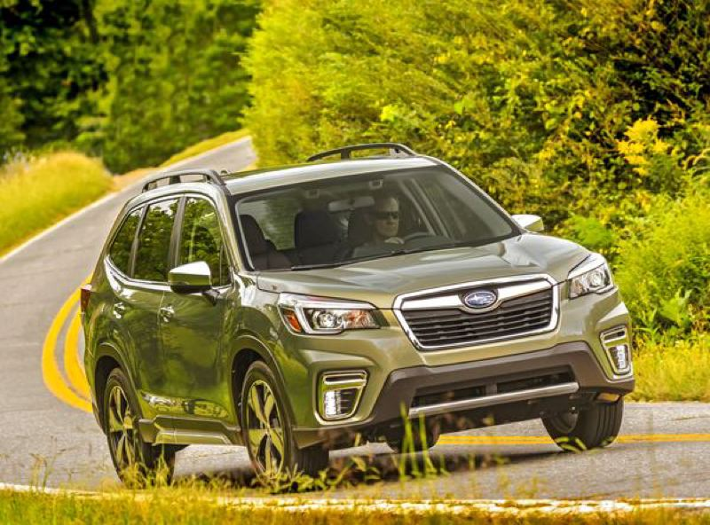 SUBARU OF AMERICA - The all-new 2019 Subaru Forester is well-designed for wet weather climates, which is why it is so popular in Portland.