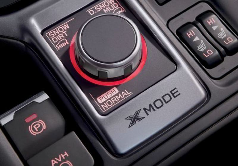 SUBARU OF AMERICA - The updated dual X-mode in the 2019 Subaru Forester allows the standard all-wheel-drive system to be adjusted for different driving conditions.