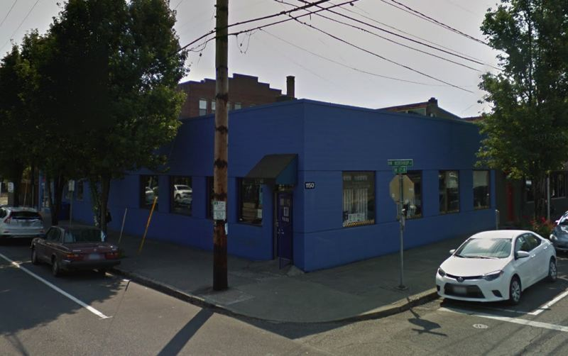 COURTESY GOOGLE MAPS - The new winter weather seasonal shelter is located at 1150 N.W. 17th Avenue in Portland.