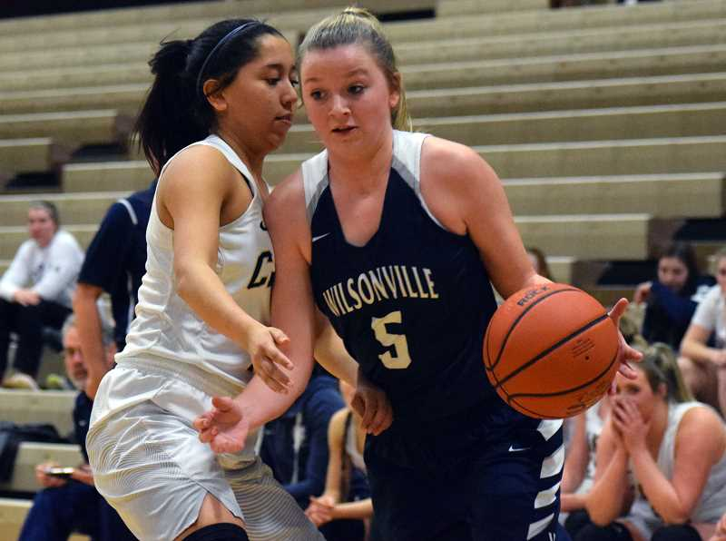 ARCHIVE PHOTO: TANNER RUSS - Senior Reese Timm was a second team all-leaguer last year as she helped lead Wilsonville to a 12-2 NWOC finish, and figures to be a pivotal player going forward.