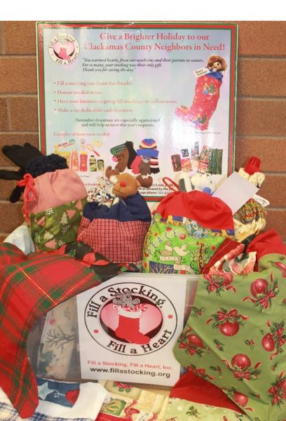 PAMPLIN MEDIA FILE PHOTO - Fill a Stocking, Fill a Heart used to have many locations around Clackamas County to drop off supplies, but the nonprofit is no longer accepting donations.