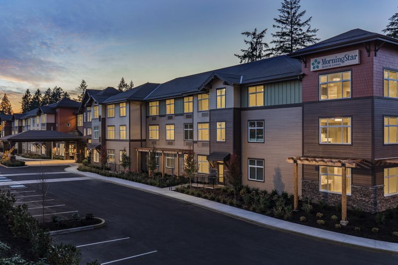 COURTESY: DAVID PAPAZIAN PHOTOGRAPHY - MorningStar Beaverton, a 104-unit assisted-living and memory care community along Southwest Barrows Road near Progress Ridge, is Confluent Senior Livings first development in the Portland metro area. The community is being operated by MorningStar Senior Living.