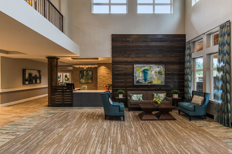 COURTESY: DAVID PAPAZIAN PHOTOGRAPHY - In keeping with Confluents aim to design its senior-living communites so that the architecture fits in with existing neighborhoods, MorningStar Beaverton features what John Reinsma, the companys managing director, calls a traditional look.
