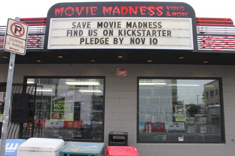 COURTESY PHOTO - A year ago Movie Madness was changing ownership hands to the Hollywood Theatre. Now, it's selling unique DVDs with Movie Madness Presents.
