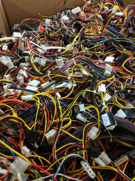 PAMPLIN MEDIA GROUP: COVER JOSEPH GALLIVAN - Cables are recycled early on at Free Geek.