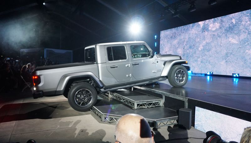 PORTLAND TRIBUNE: JEFF ZURSCHMEIDE - The 2019 Jeep Gladitor stole the show at AutoMobility LA. Based on the popular Wrangler, it is Jeep's first midsize pickup.