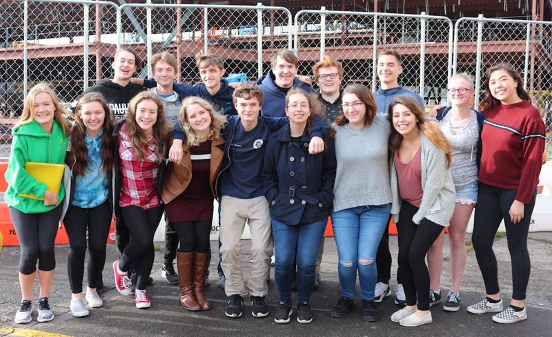 CONTRIBUTED PHOTO: GRESHAM HIGH SCHOOL  - These Gresham High School singers have been chosen to participate in the state and regional honor choirs.