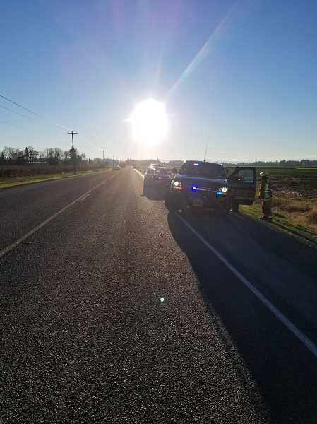 MARION COUNTY SHERIFF'S OFFICE - Investigators believe the glare of the rising sun may have contributed to a person who drove into oncoming traffic on McKay Road near Donald, resulting in a four-vehicle crash that left the driver dead.