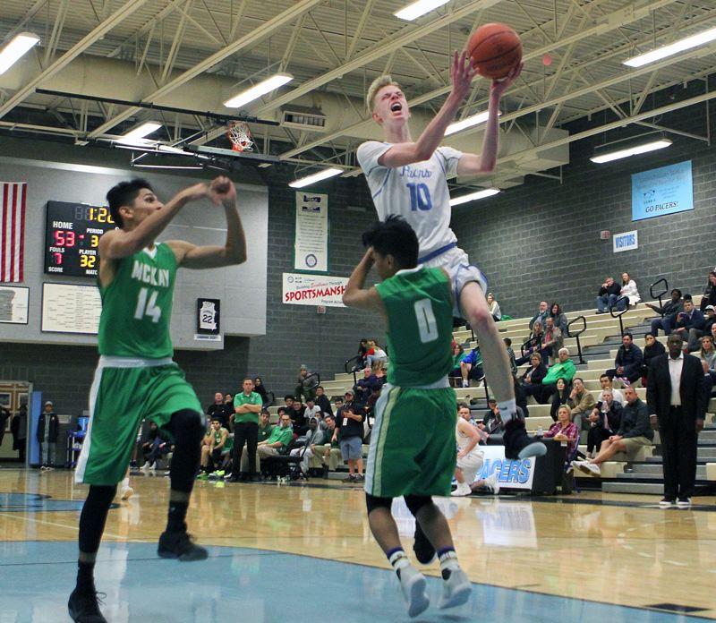 REVIEW FILE PHOTO - Lakeridge senior Carter Larrance returns to lead the Pacers this year in the ever-competitive Three Rivers League race.