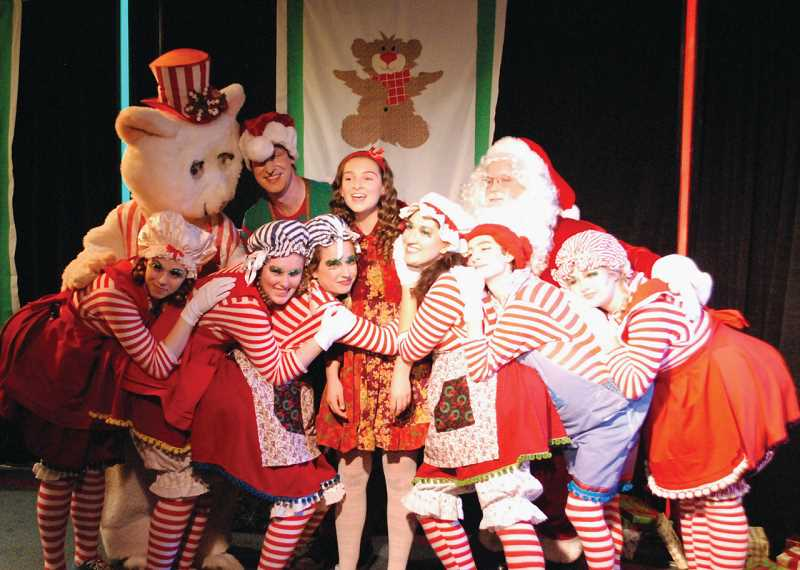 Lakewood Theatre Company will present The Peppermint Bear Show: Who Needs Sneeds? through Dec. 23 at Lakewood Center for the Arts.