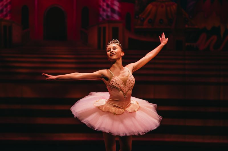 CONTRIBUTED PHOTO - Student Dillan Rittmiller, with Inspite Dance Center, performs An Evening With The Nutcracker last year at Mt. Hood Community College.
