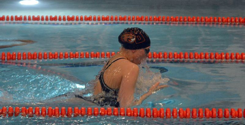 TIMES FILE PHOTO - Beaverton senior Greta Heidrich and the Beaver girls swimming team want to finish in the top-four of Metro.